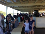 On the steamboat to the Magic Kingdom