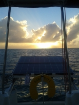 Sunset in S Bimini.