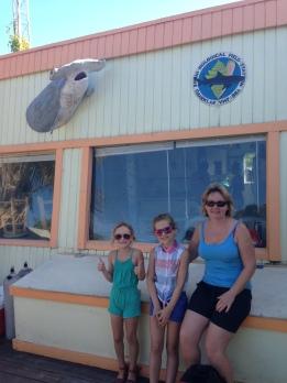 Outside the Sharklab.
