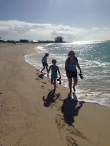The walk back along the beach was well worth it and it also saved us $20 in taxi fares.