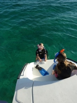 Snorkelling in Slaughter Harbour