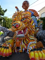 One of the many Junkanoo floats.