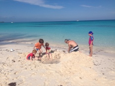 A serious sand excavation project.