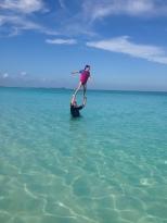 Aquatic Acrobatics.