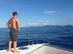 Arrival in the BVI - the last 20 miles can be enjoyed
