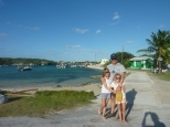 The harbour at Farmers' Cay