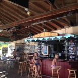Pusser's Bar at Marina Cay