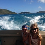 Ferry from Marina Cay to Trellis Bay