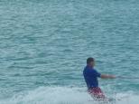 Stewart on the kneeboard