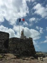 Fort Louis in Marigot, St Martin