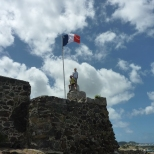 Fort Louis in Marigot, St Martin