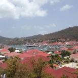 Gustavia Port.
