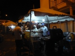 Some of the food stalls serving some great local fare.