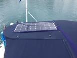 Shiny new solar panels.