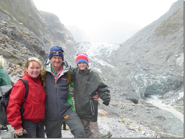 Fox Glacier and the West Coast of S Island