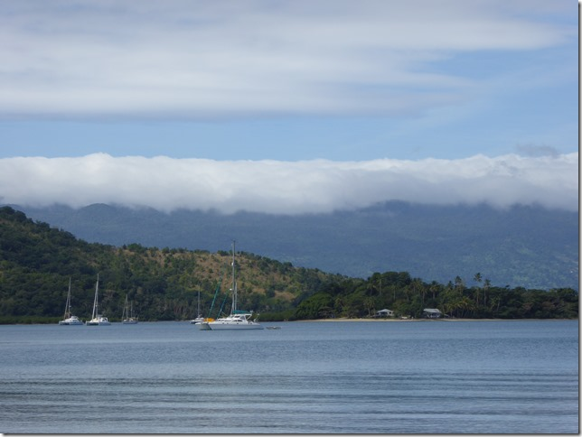 A return to Paradise, diving in Viani Bay and an aborted sail to Nadi